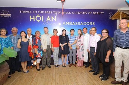 12 ambassadors enjoying the Hoi An Memories show