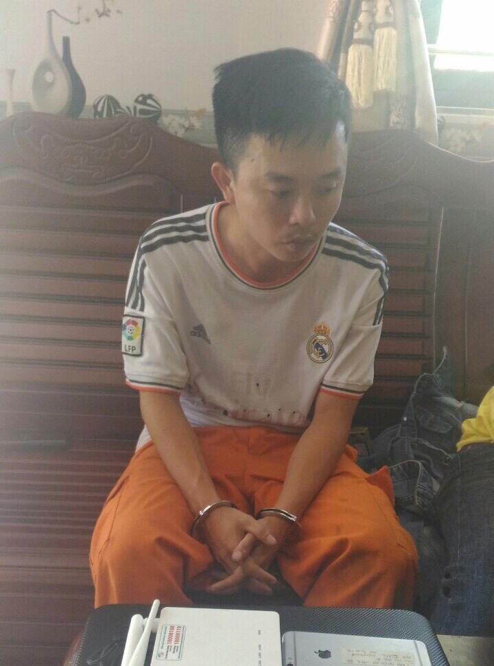 Đối tượng Trần Thuận An. Ảnh: P.N