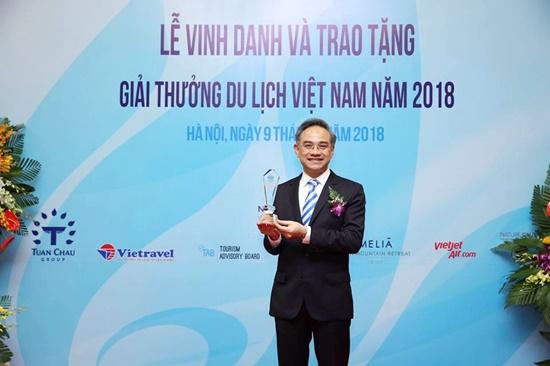 Giải thưởng thể hiện sự nỗ lực không ngừng của Vietravel trong việc phục vụ khách hàng