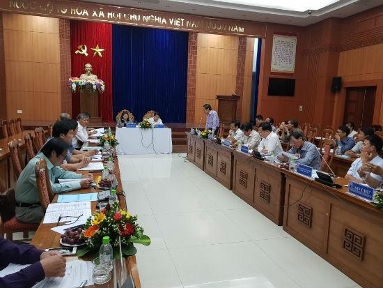 Hội nghị Ban Chỉ đạo, Ban tổ chức Ngày hội Văn hóa các dân tộc miền Trung lần thứ III với sự tham gia của đại diện 13 tỉnh, thành phố.