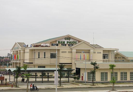Quỹ đầu tư phát triển Quảng Nam cho vay vốn nhiều dự án đầu tư hạ tầng. Trong ảnh: Khu phố chợ Nam Phước (Duy Xuyên).