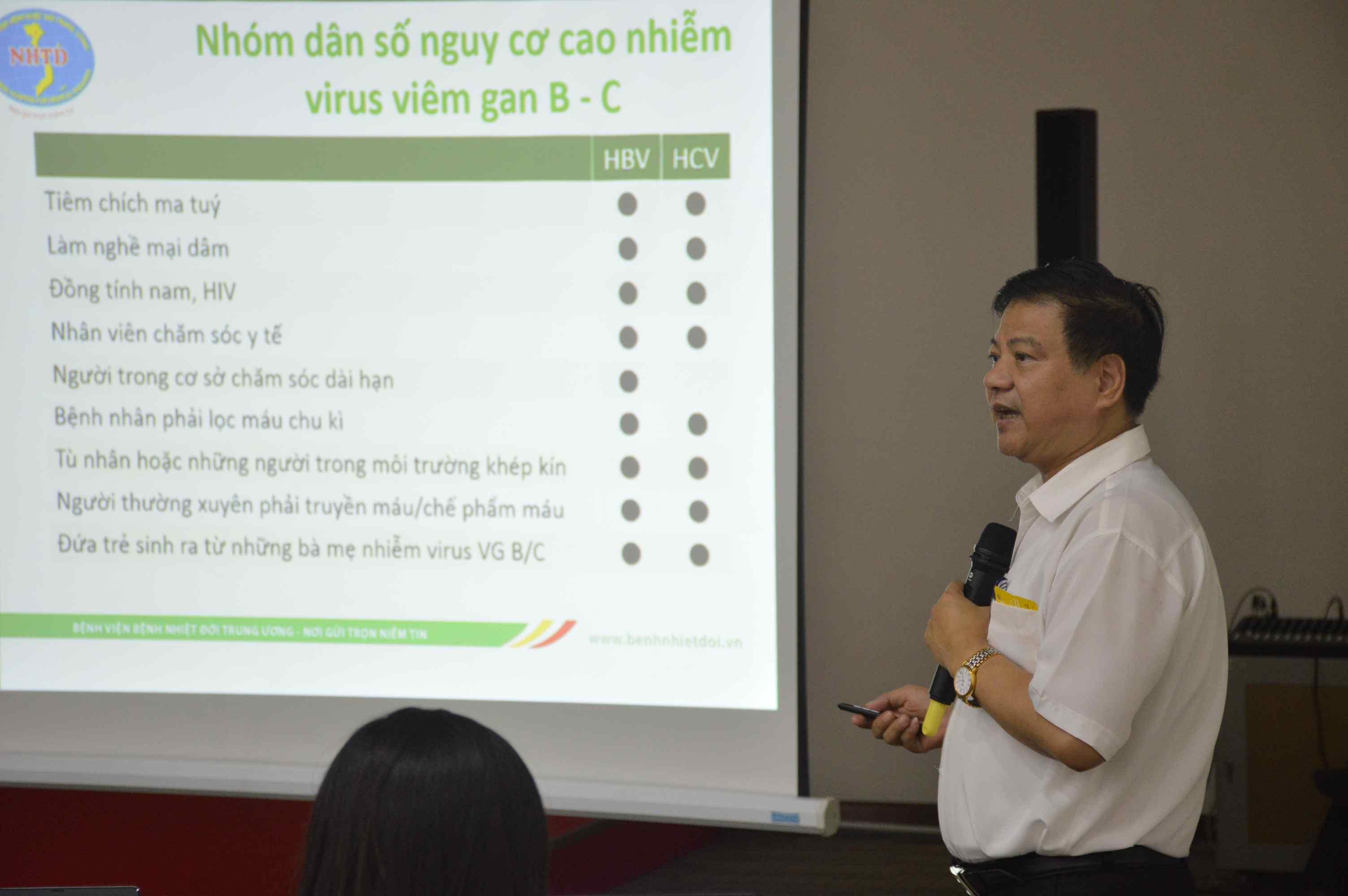 GS.TS Nguyễn Văn Kính phát biểu tại hội thảo. Ảnh: Q.T