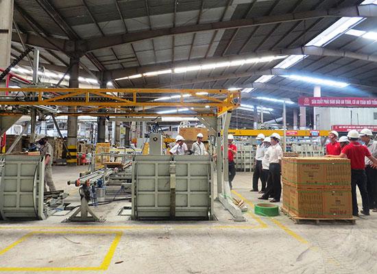 Mô hình cụm công nghiệp của Đại Lộc là điển hình trong phát triển cụm công nghiệp của tỉnh. Ảnh: H.L