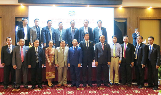 The participants at the conference.