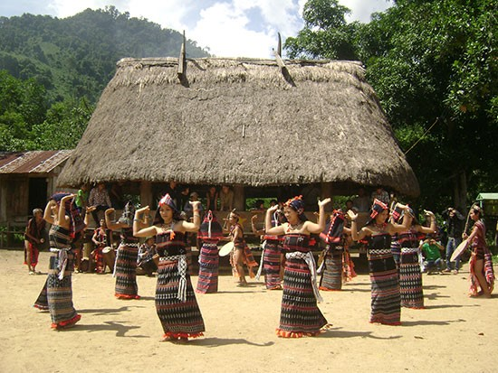 Co Tu traditional cultural values are being preserved.