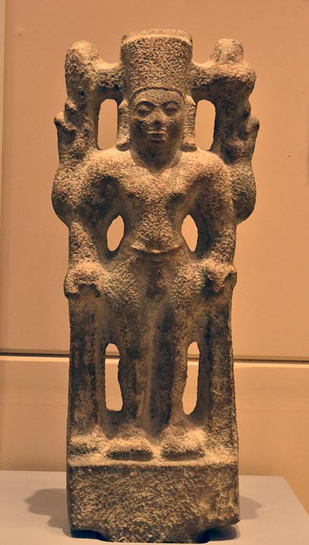Tượng thần Visnu báu vật của nền văn hóa Óc Eo.