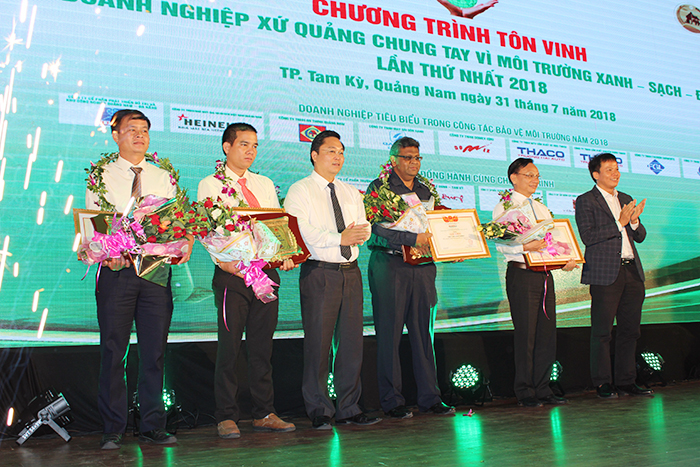 Typical businesses honoured