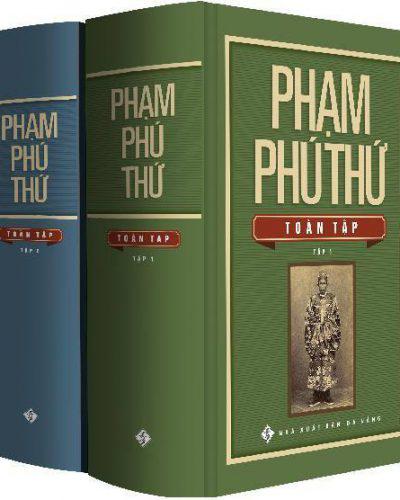 Sách Phạm Phú Thứ Toàn tập do Nhà xuất bản Đà Nẵng in ấn.