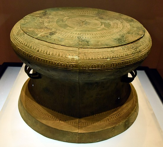 Truong Thinh bronze drum of Dong Son culture