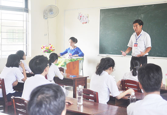Kỳ thi THPT quốc gia 2018 tại Quảng Nam được coi là thành công về công tác tổ chức cũng như kết quả thi. Ảnh: X.P
