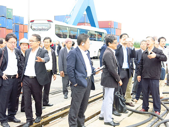 Các nhà đầu tư Nhật Bản đến xúc tiến đầu tư vào Quảng Nam. Ảnh: T.D