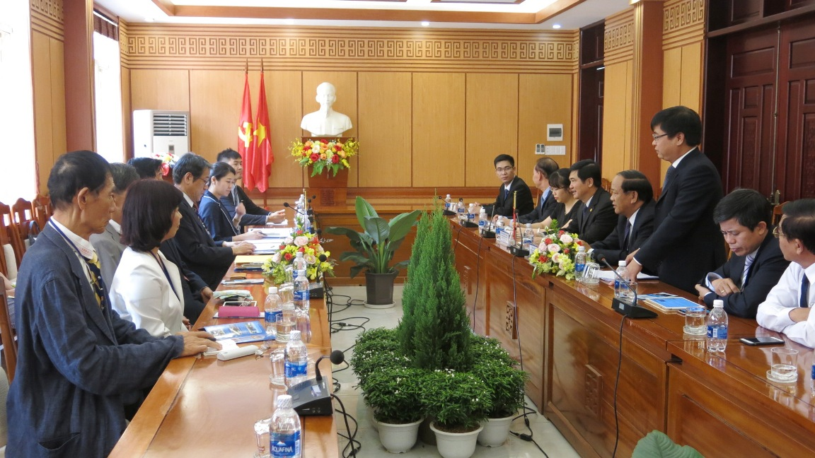 Full view of the working visit.