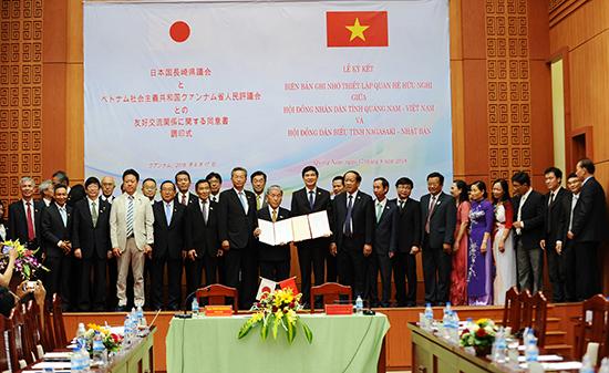 Members of Quang Nam and Nagasaki councils