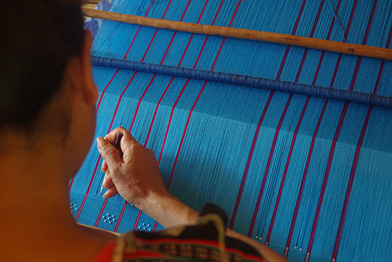 Brocade weaving by Co Tu ethnic people in Quang Nam