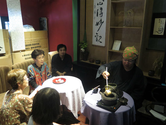 Tea ceremony, one of the Japanese cultural identities