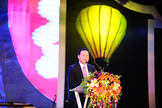 Vice Chairman Thanh at the closing ceremony