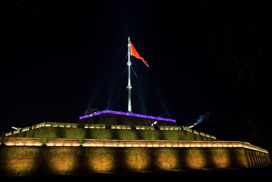 Kỳ Đài Huế sẽ được chiếu sáng về đêm với ánh đèn rực rỡ