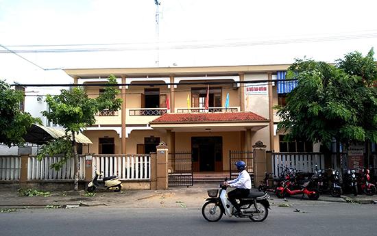 Đài Truyền thanh - truyền hình sẽ được sáp nhập thành Trung tâm Văn hóa - thể thao & truyền thông huyện Thăng Bình trong thời gian đến. Ảnh: VIỆT NGUYỄN