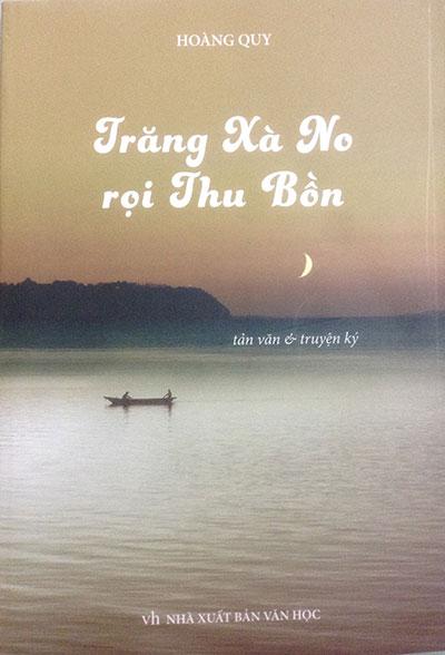 Tập sách Trăng Xà No rọi Thu Bồn.