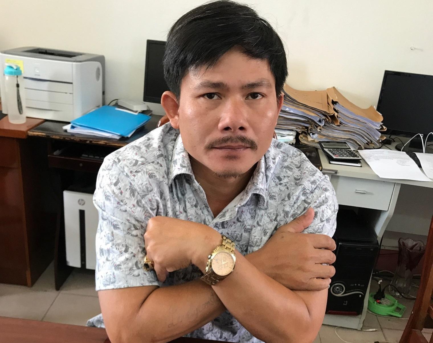 Đối tượng Nguyễn Vũ Hải. Ảnh: PN