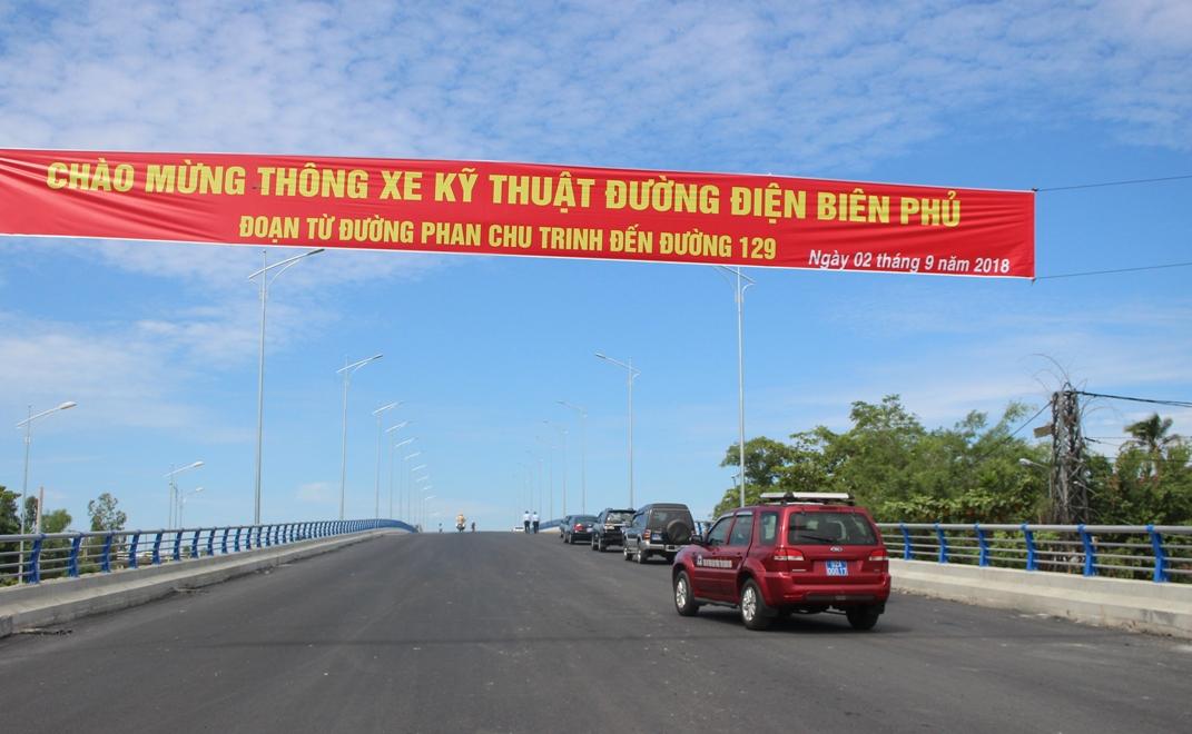 Tuyến đường Điện Biên Phủ thành phố Tam Kỳ là trục giao thông chiến lược