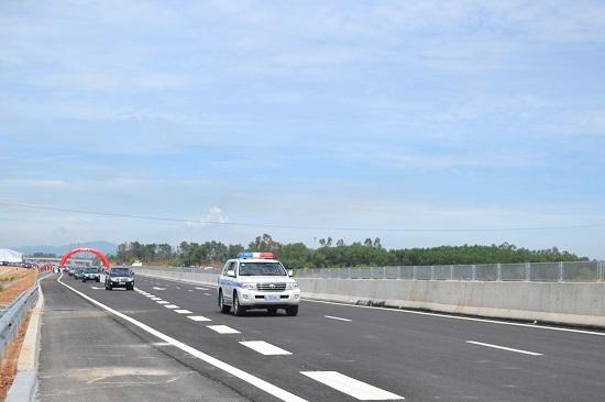 A part of Da Nang – Quang Ngai expressway