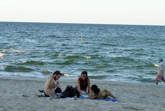 Các bãi biển Hội An được khách ưa thích lưa chọn