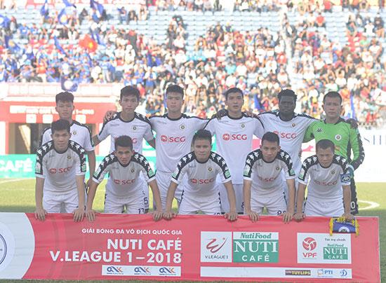 Hà Nội có đến 7 tuyển thủ Olympic nên việc lùi lịch thi đấu bán kết Cúp quốc gia hẳn có lợi. Ảnh: T.V