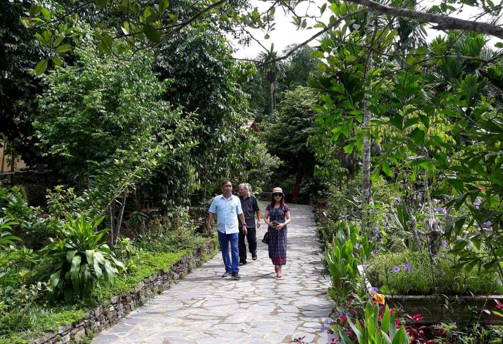 Lộc Yên và Thạnh Bình luôn tạo cho du khách những trải nghiệm thú vị và thanh nhã. Ảnh: B.A
