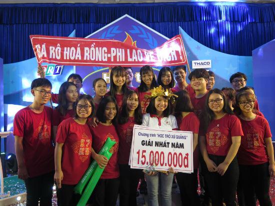 Phùng Hoàng Ca - học sinh trường THPT Chuyên Lê Thánh Tông (TP.Hội An) giành ngôi vị quán quân