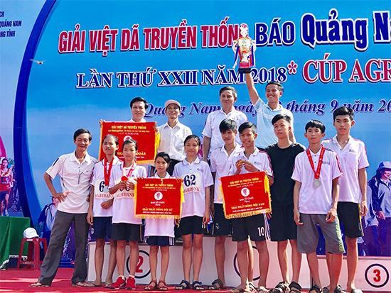 Đoàn giáo dục huyện Duy Xuyên vui mừng với nhiều thành tích cao tại giải đấu