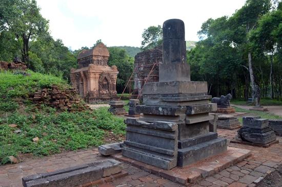 Nhiều hiện vật, kiến trúc Mỹ Sơn đã được bảo tồn gìn giữ