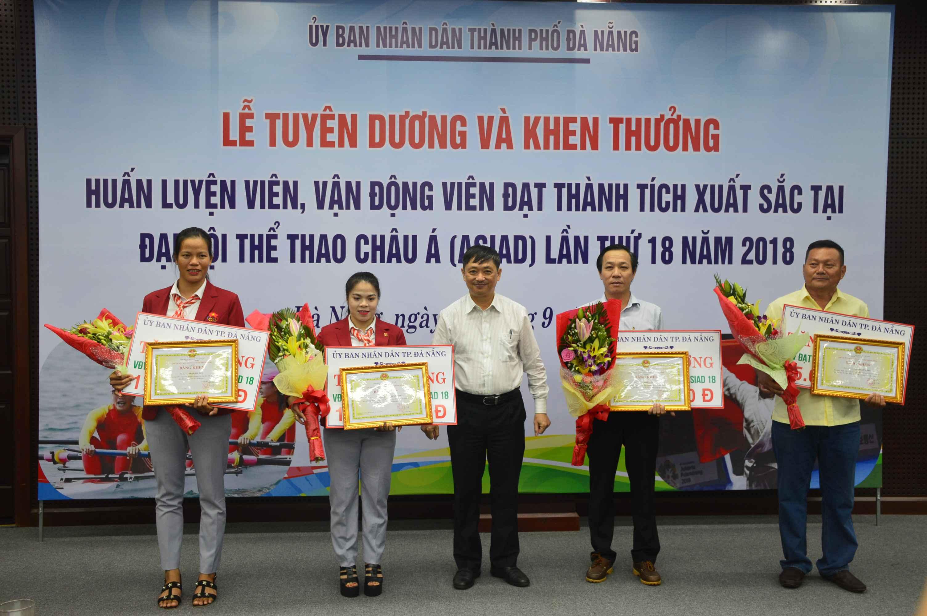 Đà Nẵng có 2 vận động viên đạt huy chương tại ASIAD 2018. Ảnh: Q.T