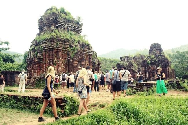 My Son Sanctuary in Quang Nam province. Photo:motthegioi