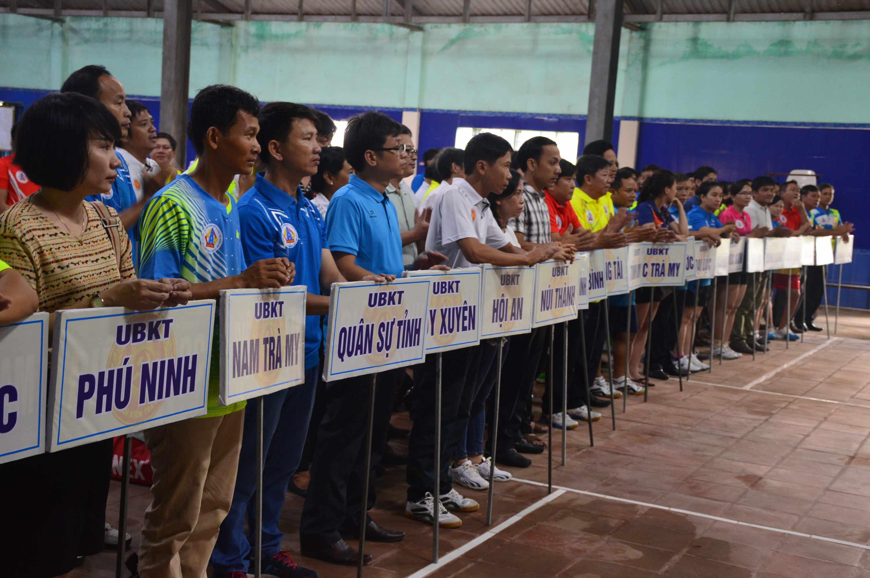 Tham dự giải đấu có 21 đoàn vận động viên đến từ các đơn vị trên địa bàn tỉnh. Ảnh: Q.T