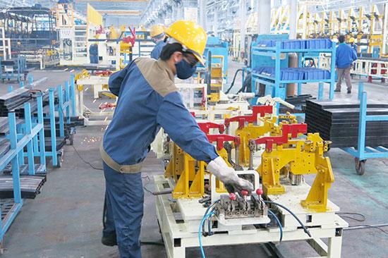 Sản xuất công nghiệp Quảng Nam phục hồi nhanh. Ảnh: T.D