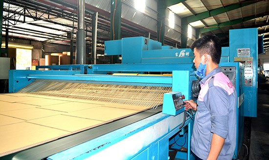 The system of quality management in a Quang Nam enterprise.