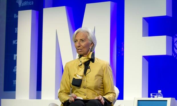 Nhà lãnh đạo IMF - Christine Lagarde. Ảnh: AP