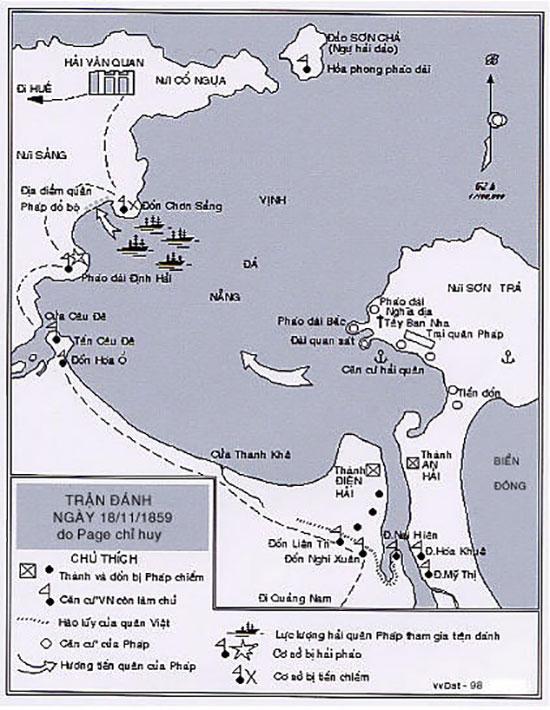 Thành An Hải trong hệ thống phòng thủ Đà Nẵng (theo Võ Văn Dật).