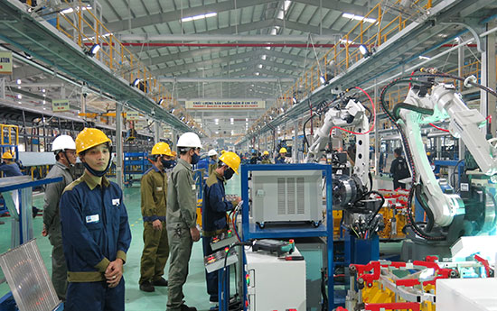 Thaco là một trong những doanh nghiệp thành công nhờ áp dụng hiệu quả các hệ thống quản lý chất lượng. Ảnh: T.D