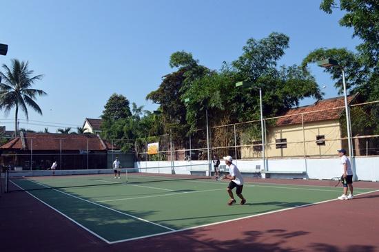 Đây là năm thứ hai liên tiếp Giải thi đấu quần vợt doanh nhân được tổ chức