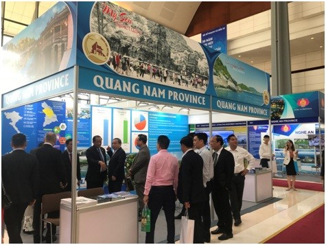 Quang Nam's exhibition stall