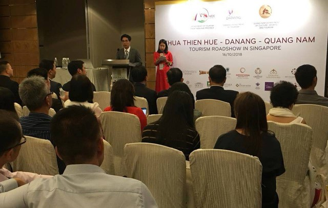 The programme to introduce tourism products of Vietnam Central localities