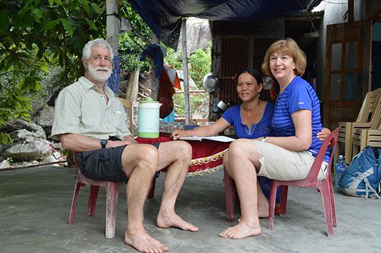 Du lịch Cù Lao Chàm phải là du lịch sinh thái và chọn khách cao cấp. Ảnh: K.L
