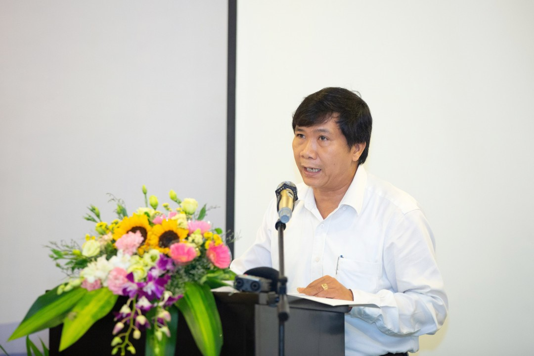 Vice Chairman of the Hoi An City People's Committee Nguyen Van Son at the workshop