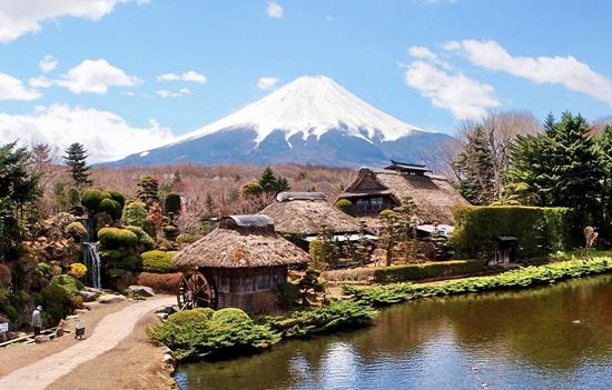 Núi Phú Sỹ - biểu tượng của đất nước Nhật Bản