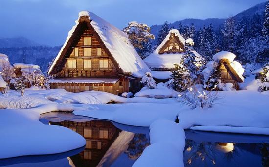 Mùa tuyết rơi Nhật Bản