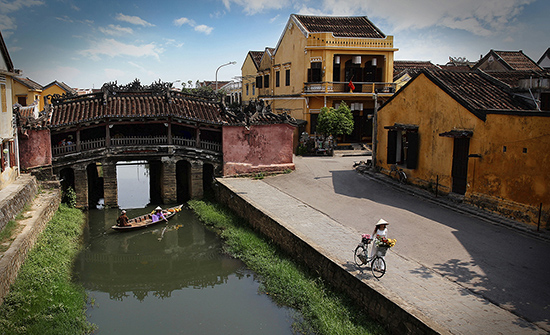 Chua Cau, a symbol of Hoi An city, Quang Nam province