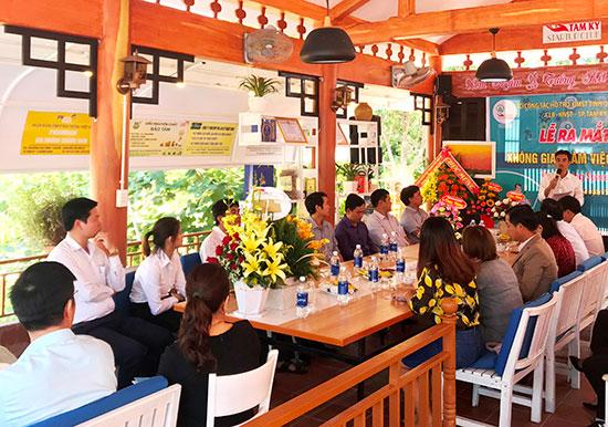 Coworking space in Tam Ky có địa chỉ tại 45 Hùng Vương. Ảnh: VINH ANH