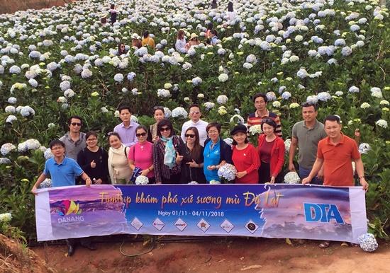 Đoàn famtrip khảo sát su lịch tại Đà Lạt